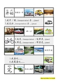 Learn names of different Transportation and places through