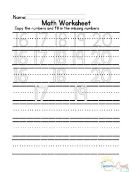 Learn numbers 11-20