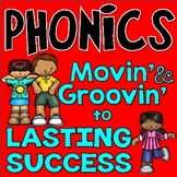 Learn phonics with chants & movement VIDEOS INCLUDED