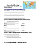Learn that Country - an Intro to World Geography