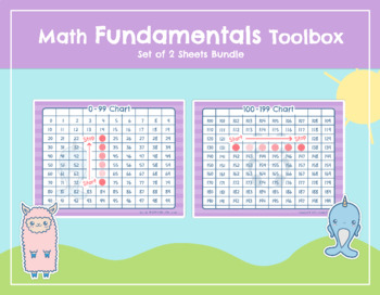 "Math Fundamentals Toolbox: Sheets ""0-99 Chart"" and ""100-199 Chart"""