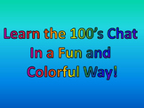 Learn the 100's Chart In a Fun and Colorful Way!