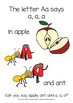 Learn the ABC's - Full Colour 26 page A-Z Picture Book