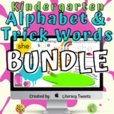 Learn the Alphabet and Kindergarten Trick Words with Jamboard™