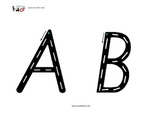 Learn the Alphabet with Capital Letter Roads (small)