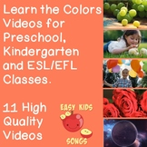 Learn the Colors - 11 Color Videos using Real Footage