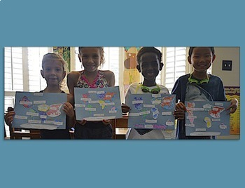 Learn the Continents and Oceans~ Geography / Map Activity