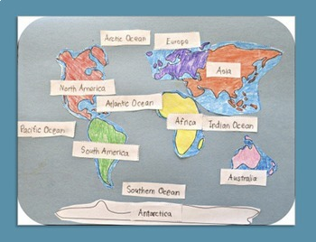Learn the Continents and Oceans ~ Geography / Map Activity on map of world tropic of cancer, map of world geology, map of world tropic of capricorn, map of world venezuela, map of world genocides, map of world earthquakes & volcanoes, map of world countries, map of world territories, map of world lat long, map of world fisheries, map of world texas, map of biology, map of world average temperatures, map of writing, map of world siberia, map of world revolutions, map of sociology, map of regions of america, map of world americas, map of world metric system,