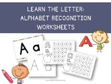 Learn the Letter: Alphabet Recognition, Alphabet Posters,