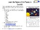 Learn the Names of the Planets in Spanish! (Fun Activity for Earth Day!)