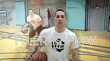 Learn the PRO HOP basketball move - Tyler Kepkay (Coachbase)