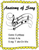 """Learn the Parts of Song - Analysis of A-ha's Hit Song """"Tak"""