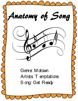 """Learn the Parts of Song - Analysis of the Temptations' Hit """"Get Ready"""""""