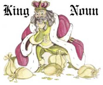 "Free Song Lyric Page (RKPS ""King Noun"") Learn the Parts of Speech"
