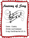 "Learn the Parts of a Song - Analysis of Lee Greenwood's Hit ""God Bless the USA"""