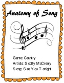 """Learn the Parts of a Song - Analysis of Scotty McCreery's Hit """"See You Tonight"""""""