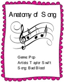 """Learn the Parts of a Song - Analysis of Taylor Swift's Hit Sing """"Bad Blood"""""""