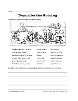 Learn the Parts of a Story: Setting