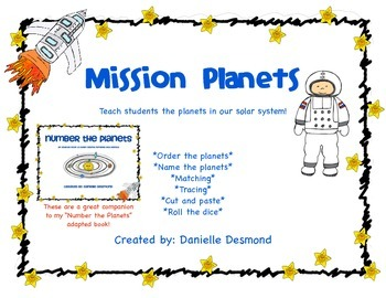 Focus St 0 60 >> Learn the Planets worksheets for Special Education by ...