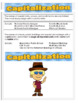 Learn the Rules of Capital Letters PDF - Capitalization Language Education