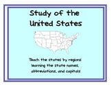Learn the States: State names, capitals, abbreviations (Pr