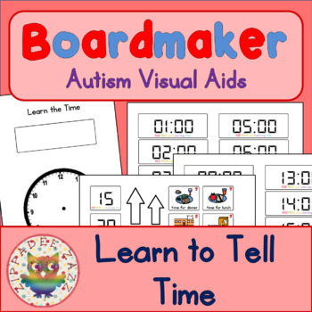 Learn the Time - Boardmaker Visual Aids for Autism