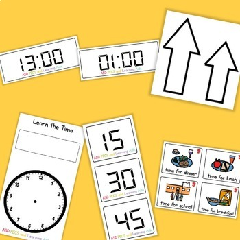 Learn the Time - Boardmaker Visual Aids for Autism SPED