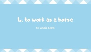 9 IDIOMS ABOUT HORSES