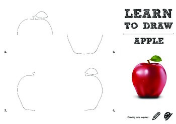 Learn to Draw : APPLE - Page 2 Sample