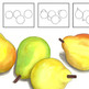 Learn to Draw Four Pears