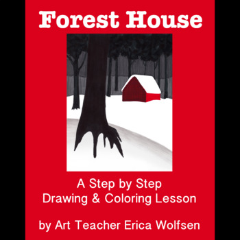 Learn to Draw a Forest House