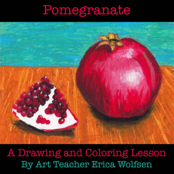 Learn to Draw a Pomegranate Still Life