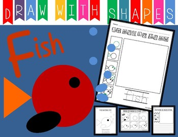 Learn To Draw With Shapes Letter F Fish By Crazycreations On Tpt