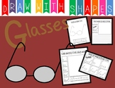 Learn to Draw with Shapes - Letter G Glasses
