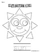Learn to Draw with Shapes - Letter S Sun