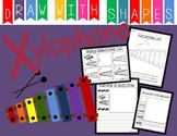 Learn to Draw with Shapes - Letter X Xylophone