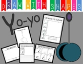 Learn to Draw with Shapes - Letter Y Yo-yo
