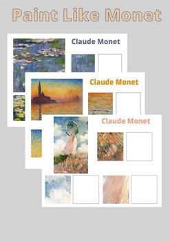 Learn to Paint Like Monet