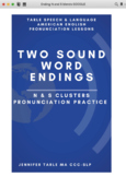 Learn to Pronounce Two Sound English Word Endings - N and