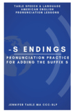 Learn to Pronounce the suffix -S - English Pronunciation Practice