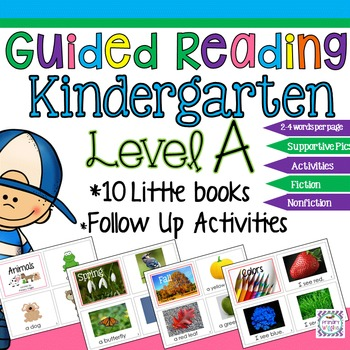 Guided Reading with Little Books and Follow up Activities