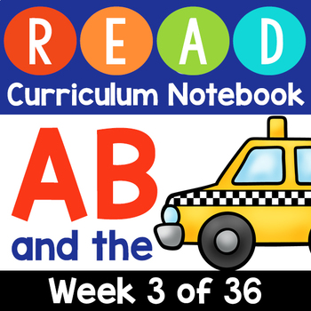 Learn to Read: AB Week 3