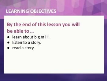 Learn to Read - Book 3, Nearpod Lesson