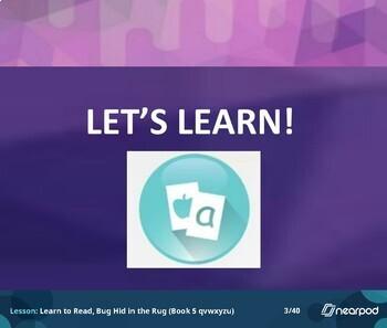 Learn to Read - Book 5, Nearpod Lesson