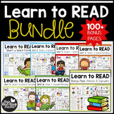 Learn to Read Bundle Pack