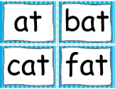 Learn to Read Flash Cards: Short A Word Families