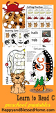 Learn to Read Letter C activity pack