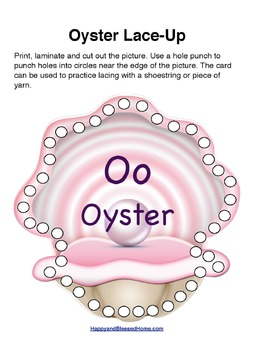 Learn to Read Letter O Activity Pack