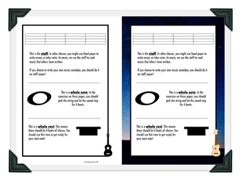 Learn to Read Music with the Ukulele - Unit 1: Whole Notes & Whole Rests