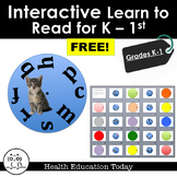 Teach Reading Using These Reading Wheels FREE!